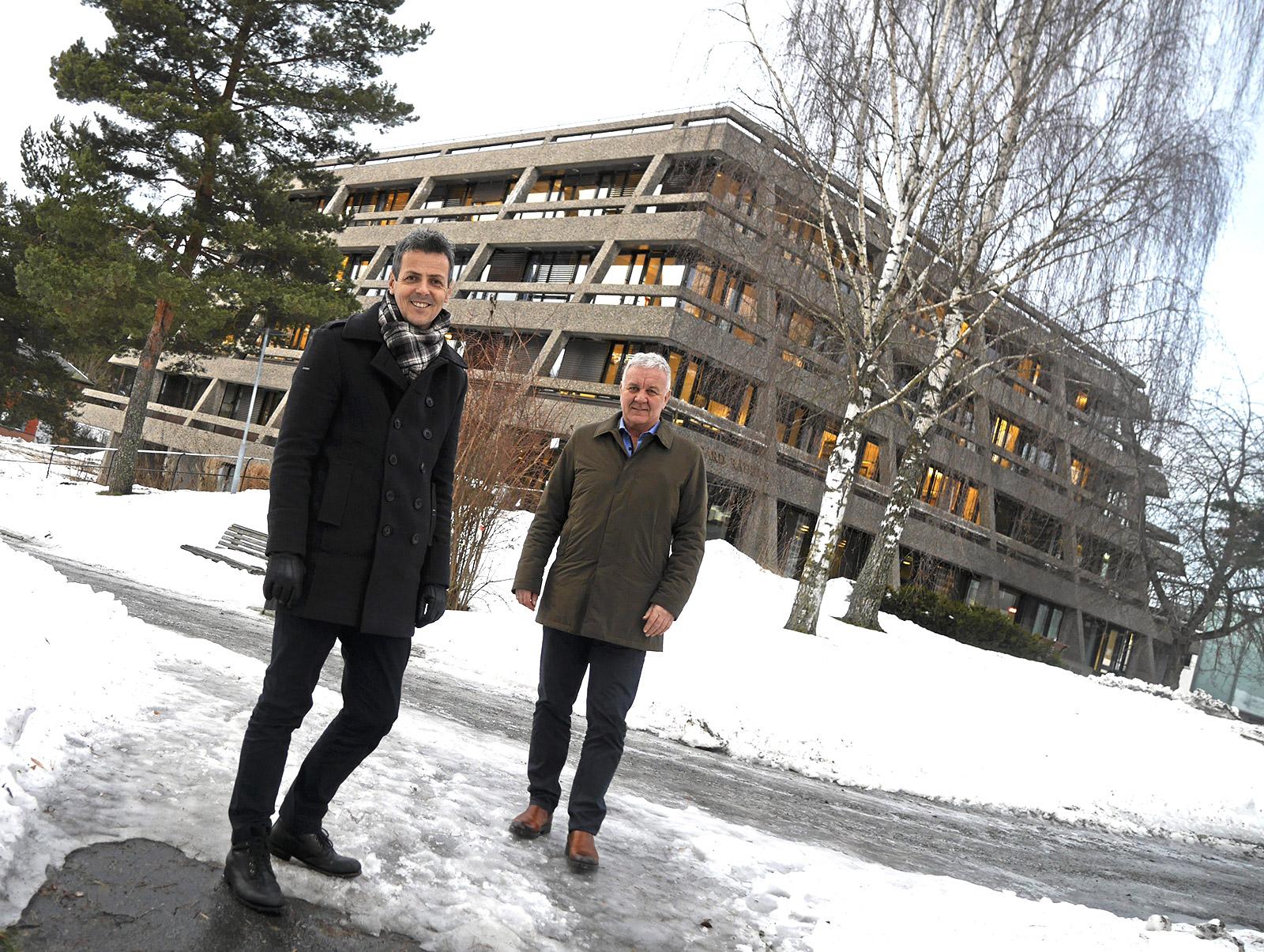 Svein Brændjord og Roy Hugo Øren